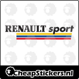 RENAULT SPORT FULL COLOR STICKER