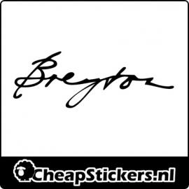 BREYTON LOGO STICKER