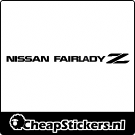 FAIRLADY Z STICKER