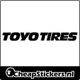 TOYO TIRES LOGO STICKER