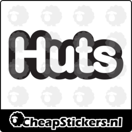 HUTS  STICKER