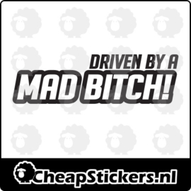 MAD BITCH STICKER