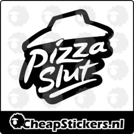 PIZZA SLUT STICKER