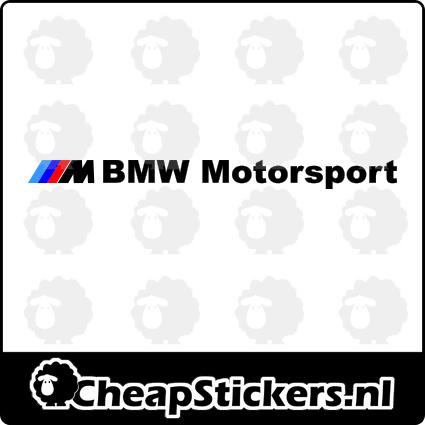 BMW M MOTORSPORT STICKER