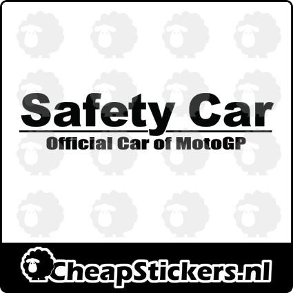 SAFTEY CAR RAAMBANNER