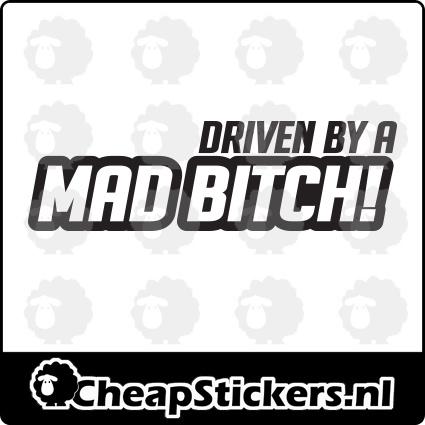 MAD BITCH STICKER