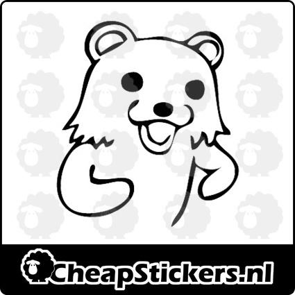 PEDO BEAR STICKER