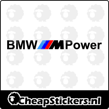 BMW M POWER RAAMBANNER