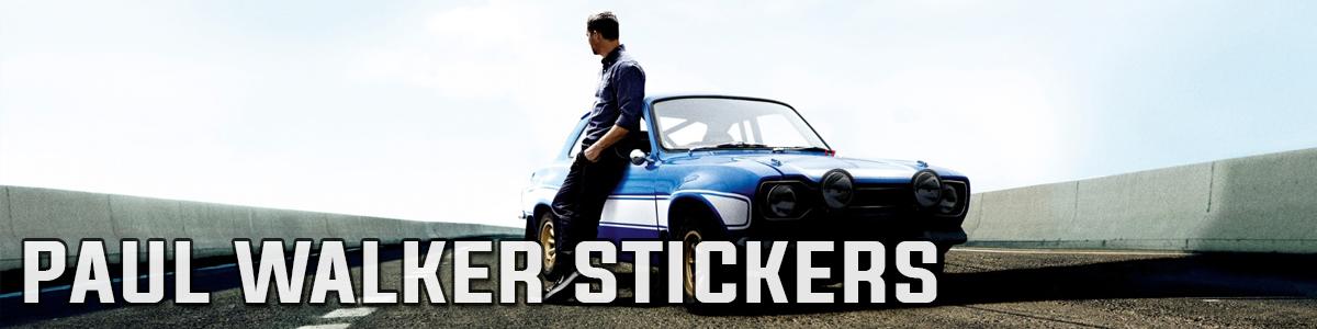 Paul Walker Stickers