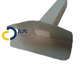 HWA Prefab Hard PVC dakbedekking zijuitloop 60x100 L300mm 90 graden prijs per stuk