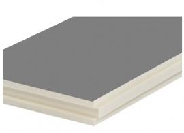 PIR isolatieplaat ALU TG (tand en Groef) 40mm/4cm (prijs per PAK)