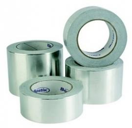 Aluminium tape T303 50mm x 45mtr prijs per rol