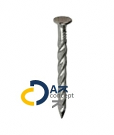 Slagschroefnagels trimspijkers daktrimmen gegalvaniseerd IKOfix 3,8x25mm prijs per doos 1kg