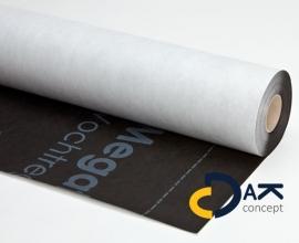Megatec 130 dampopen folie mandragend + KOMO-certificaat 1,5x50 m2 prijs per rol
