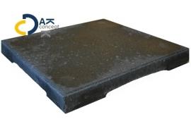 Intercodam daktegel ( dakterrastegel) grijs 30x30x3,5cm