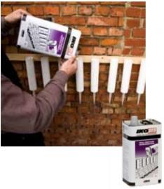 IKOpro muur injectie kit blik 5 liter prijs per stuk