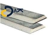 Mastiekhoek PU trapezium (schroot) gecacheerd 10x10cm 1,2mtr prijs per stuk