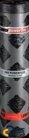 IKO powerflex Quadra black 370k24 zwart SBS dakbedekking 5x1 m2 renovatie, prijs per rol