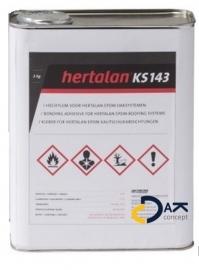 EPDM Hertalan hechtlijm KS143 2kg (dakvlak/bodem) prijs per stuk