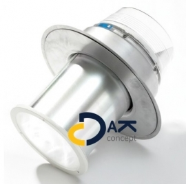 Jet Bik daglichtbuis D250 plat dak diameter 25cm prijs per complete set/ stuk