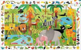 Djeco puzzel observation | Jungle (35st)