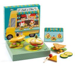 Djeco rollenspel | sandwiches maken met Emile en Olive