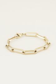 My Jewellery | armband met schakels goud