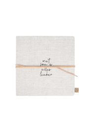 Zusss vriendinnenboek | 'met jou' linnen