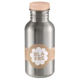 Blafre drinkfles 500 ml | licht roze peach