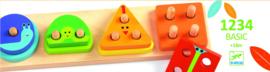 Djeco puzzel | vormenspel 1234
