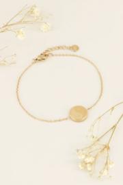 My Jewellery | armband Yin en yang goud