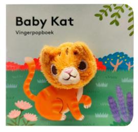 Baby kat | vingerpopboekje karton