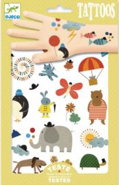 Djeco tattoeages |  dieren