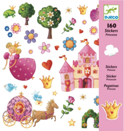 Djeco stickers   prinsessen