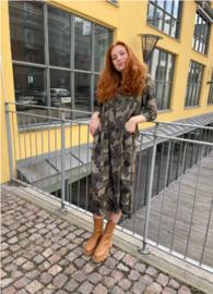 black colour blouse jurk | Kenna camouflage