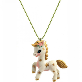 Djeco kinderketting lovely charm | paardje