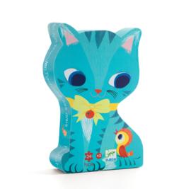 Djeco puzzel | kat en zijn vrienden