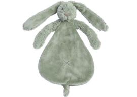 Happy horse konijn | Richie knuffeldoekje groen