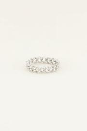 My Jewellery | ring kleine schakels zilver