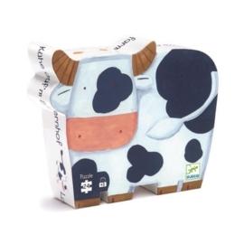 """Puzzel """"de koeien op de boerderij""""  Djeco"""