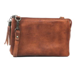 Bear Design clutch 'Umi 2' | cognac