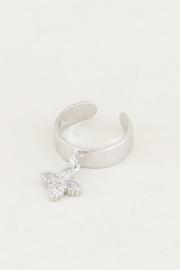 My Jewellery | earcuff hangend sterretje zilver