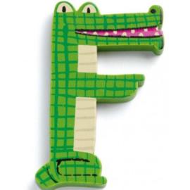 Djeco alfabet dieren | letter F