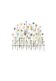 wenskaart kleinliefs   bloemen