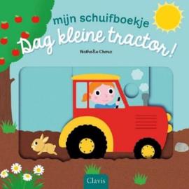 Dag kleine tractor | schuifboekje karton