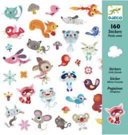Djeco stickers   kleine vrienden