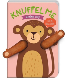 Knuffel me kleine aap | karton
