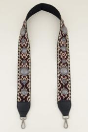 My Jewellery | tassenhengsel bohemian paars