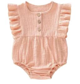 Little indians onesie | Soft pink
