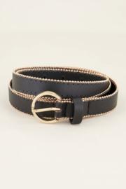 My Jewellery | riem met studs zwart
